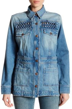d517a695e8 The Festival Jacket by Current Elliott on  nordstrom rack Denim Outfit