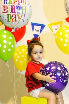 Cute 2nd birthday pose for pictures. # toddler Photography