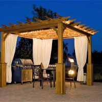 Pergolas are an interesting way to add beauty and purpose to your patio. You can select and build pergola according to your landscape and aesthetic sense. You can directly install a pergola in your garden or can build a deck or platform-like structure as base for your pergola. This can provide shade and and a