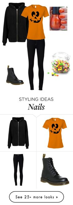 """""""Happy Halloween"""" by trickie on Polyvore featuring BLK DNM, Ström, Dr. Martens and Dot & Bo"""