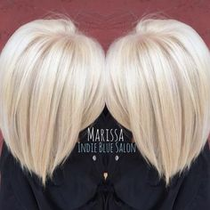 """Marissa Pence shares how she used the """"Platinum Card"""" on the receptionist at the salon. """"Since she is at the front of the salon and works directly with all of our wonderful guests, I wanted to make sure her hair is taken care of and looking good."""" The goal was an icy/cool platinum white blonde. """"She had 1.5 inches of natural level 7 hair at her base and 3-4 inches of warm level 7 color on her midshaft from a previous root retouch. There was barely any level 9 highlights on her ends. Her…"""