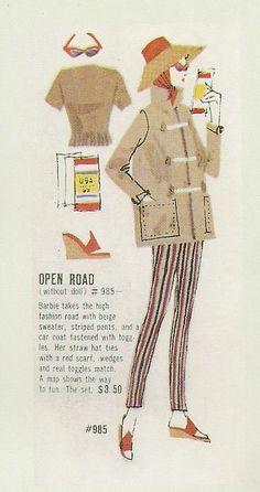 Barbie - Open Road #985