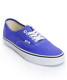 Vans Women's Authentic Purple Iris Shoe at Zumiez : PDP