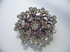 Juliana 3 dimensional Rhinestone and Crystal AB by art4u2buy, $85.00