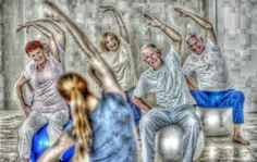 This is an article on exercises for the elderly. How can an elderly choose an exercise that will be enjoyed and, most importantly, done regularly.