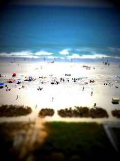 Beach (Tilt-Shift)