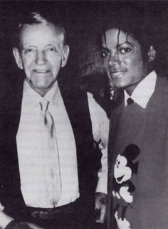 Fred Astaire and Michael