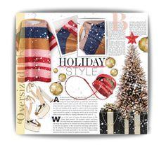 """Holiday Style: Oversized Dresses"" by mariamharrasova ❤ liked on Polyvore featuring H&M, Kate Spade, Giuseppe Zanotti, holidaystyle and oversizeddress"