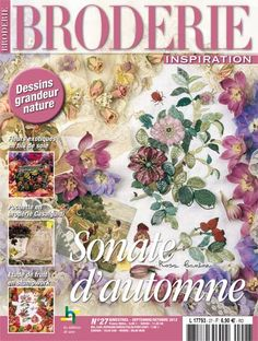 Broderie Inspiration 27: Sonate d\'automne