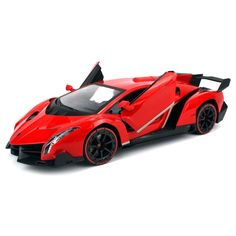 Velocity Toys Veneno LP 750-4 1:14 Scale Licensed Lamborghini RC Car With Motion-sensing Joystick Remote