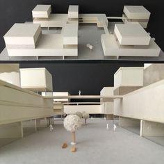 Architecture Model Making, Architecture Concept Drawings, Futuristic Architecture, Architecture Design, Rehabilitation Center Architecture, Urban Design Diagram, Hospital Design, Arch Model, Bungalow House Design