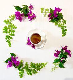 #coffeetime #relax #lifestyle #bougainville #capelvenere #alwaysflowersinmylife #daisyflowersschool #flaviabrunifloraldesigner #rome