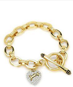 Pave Heart Starter Bracelet