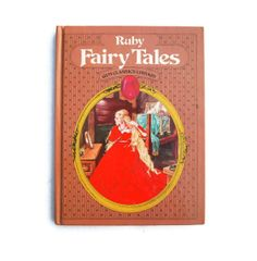 Fairy Tale in Red by Libby Boyer on Etsy