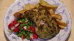 Ovengebakken kip en aardappels met kruidenboter - De Makkelijke Maaltijd | 24Kitchen