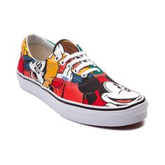 Mickey Mouse Vans, Mickey Shoes, Mickey Ears, Disney Vans, Disney Outfits, Disney Clothes, Skate Shoes, Vans Shoes, Tenis Vans