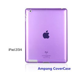 Soft TPU Cover for Apple iPad 2 Case High Quality Silicon Case for ipad 3 Colourful Slim Soft Cover for iPad 4 Case 9.7 inch