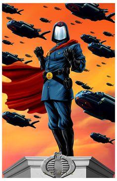 Cobra Commander - G.I. Joe - Damon Bowie