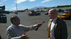 PRSA President and MassMedia team member James Stover interviewed by Telemundo.