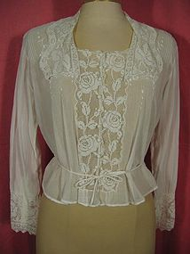 Time Traveling in Costume: 1918 Armistice blouse