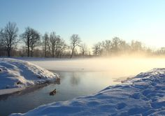 Александр Левин / Canon EOS 650D / пейзаж, зима, режимный свет