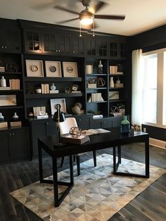 40 Amazing Home Office Design Ideas. Nice 40 Amazing Home Office Design Ideas. It is absolutely true that you will be draining more time in your home office if you work solely from […] Home Office Colors, Home Office Space, Home Office Furniture, Home Office Decor, Home Decor, Office Style, Small Office, Cozy Office, Office Inspo