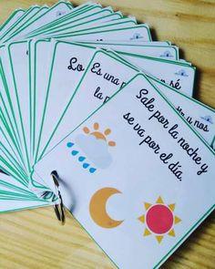 Colección Comprensión lectora ADIVINA ADIVINANZA LETRA imprenta y ligada -Orientacion Andujar Sistema Solar, Home Schooling, Montessori, Homeschool, Challenges, Notebook, Teacher, Classroom, Education