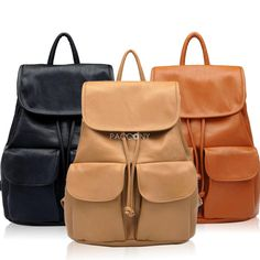 BBAO - Fashion Cute Lady Backpacks with External Pockets on http://www.paccony.com/product/BBAO-Fashion-Cute-Lady-Backpacks-with-External-Pockets-23591.html