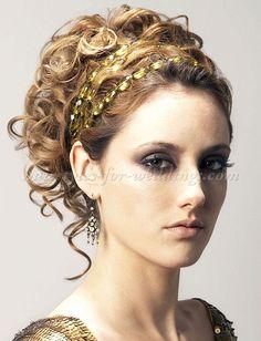 curly wedding updos, curly wedding hairstyles, wavy wedding hair ...