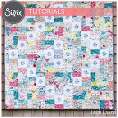 This Sizzix Quilting Tutorial comes from Design Team member Karin Jordan.  She created a lovely Rapture Quilt using our Sizzix Quilting dies.  Take a peek!
