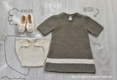 healthy clothing for your baby and sensitive skin, neurodermitis, toxocs of conventional cotton Baby Outfits, Cute Outfits For Kids, Cute Kids, Bb Style, Girlie Style, Fashion Design For Kids, Kids Fashion, Knitting For Kids, Baby Knitting