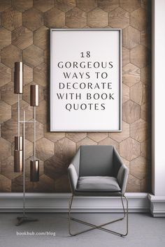 Always wanted to decorate your home with book quotes but not sure where to begin? Here are some ideas for you! #books #quotes #design Web Design, Lets Stay Home, Inspirational Wall Art, Bedroom Art, Minimalist Home, My Happy Place, Poster Wall, Printable Art, Printables