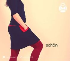 Schneller Rock für Mama – Freebook Here was a quick-to-sew skirt for women. How he is sewn, we show you here! Sewing Clothes, Diy Clothes, Clothes For Women, Belted Shirt Dress, Tee Dress, Maxi Skirt Winter, Sewing Patterns Free, Pulls, Outfits For Teens