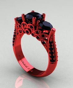 Unique Gothic Wedding Rings | FashionateDesires.Com Fashion Center ...