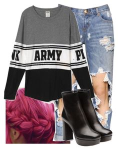 """Untitled #9478"" by imblissedoff ❤ liked on Polyvore featuring One Teaspoon and Miu Miu"