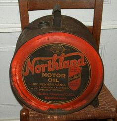 Amoco motor oil rocker oil can oil cans pinterest for Northland motor oils lubricants