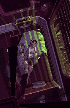 Amazing Pixel Art Animations by Kirokaze pixel Animation Pixel, Arte 8 Bits, Pixel Art Background, Animated Love Images, Cool Pixel Art, Midnight Thoughts, Arte Cyberpunk, Pix Art, 8 Bit Art