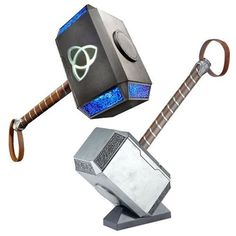 Preorder: Due to ship August 2017 Summon the powers of Mjolnir! With this premium Mjolnir Electronic Hammer from the Marvel Legends Series, wield Thor's hammer and imagine channeling the powers of the Asgardian God of Thunder! Inspired by classic Thor and built at full-scale, this Electronic Hammer features premium design and styling, as well as …