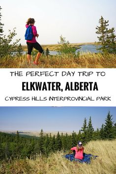 A selection of the best things to see and do in the townsite of Elkwater at Cypress Hills Interprovincial Park in Alberta. Camping Places, Places To Travel, Places To See, Cypress Hill, Lost Girl, Girl Guides, Day Trip, North America, Canada