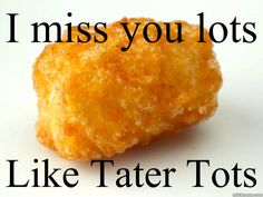 "101 I miss you memes - ""I miss you lots like tater tots. Love Quotes For Her, Cute Love Quotes, Missing My Boyfriend Quotes, I Miss My Boyfriend, Love You Meme, Missing You Quotes For Him, I Miss You Quotes, Arabic Love Quotes, I Miss You Memes"