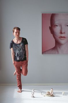 Los rostros sin alma de Oleg Dou