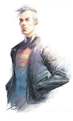 Superboy by Ron Salas