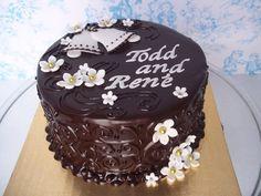 Dark Chocolate Wedding Bells