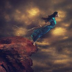 let loose the curious being - Photography by Brooke Shaden