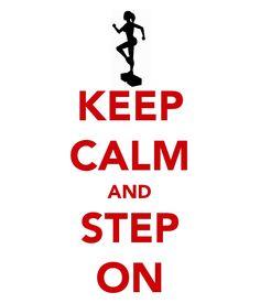 My favorite form of group ex:  step aerobics