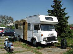 Avia A31 modified to caravan