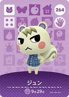 Marshal (Animal Crossing Cards - Series 3) amiibo card