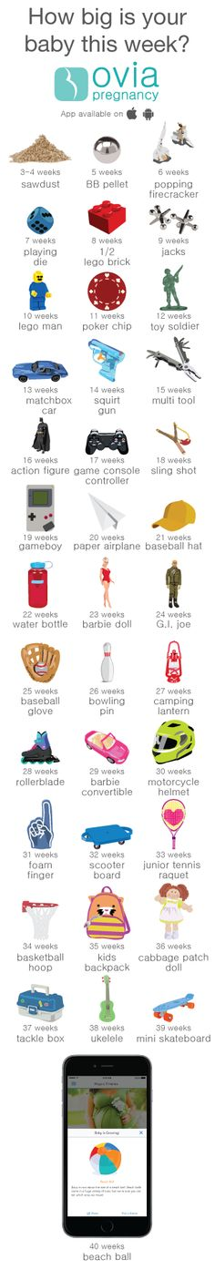 Your entire pregnancy week-by-week, all in one app! Find it here: http://www.ovuline.com/#ovia-pregnancy-app