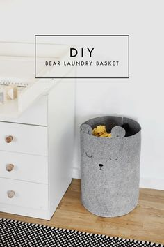 Pretty, Dirty Laundry: A Nursery DIY | baby room decor | kid's bedroom idea