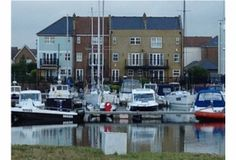 For Sale-On the Sunshine Coast-Eastbourne Marina-Stunning Views over the Harbour-Direct Water Frontage 4/5 Bedroom Town House